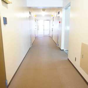 市谷加賀町スカイマンション(3階,)のフロア廊下(エレベーター降りてからお部屋まで)