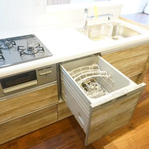 市谷加賀町スカイマンション(3階,)のキッチン