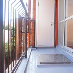 市谷加賀町スカイマンション(3階,)のバルコニー