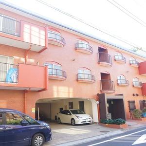 市谷加賀町スカイマンションの外観