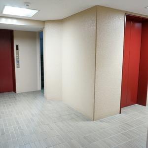 ビオライフハウスのエレベーターホール、エレベーター内