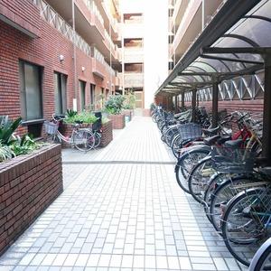 ビオライフハウスの駐輪場
