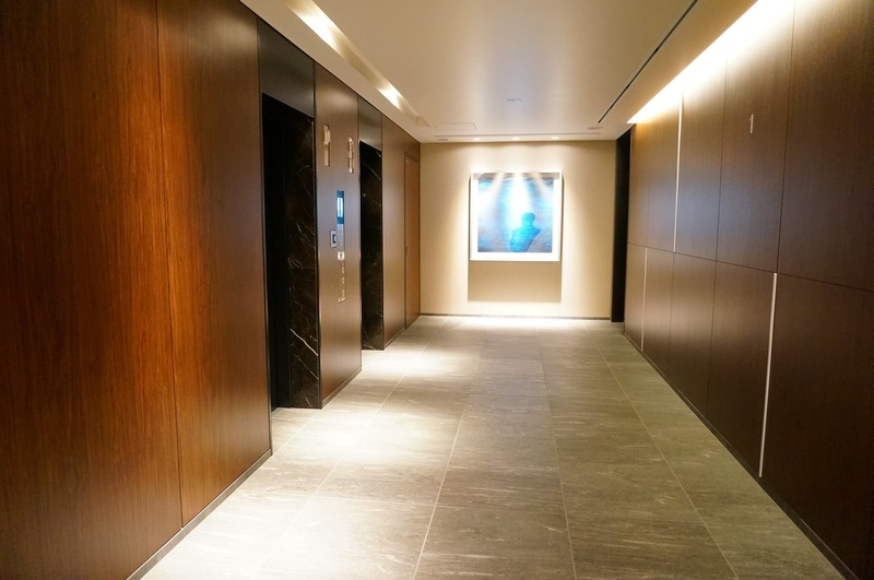 ブリリアタワー代々木公園クラッシィのエレベーターホール、エレベーター内1枚目