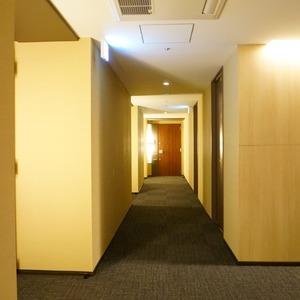 ブリリアタワー代々木公園クラッシィ(14階,)のフロア廊下(エレベーター降りてからお部屋まで)