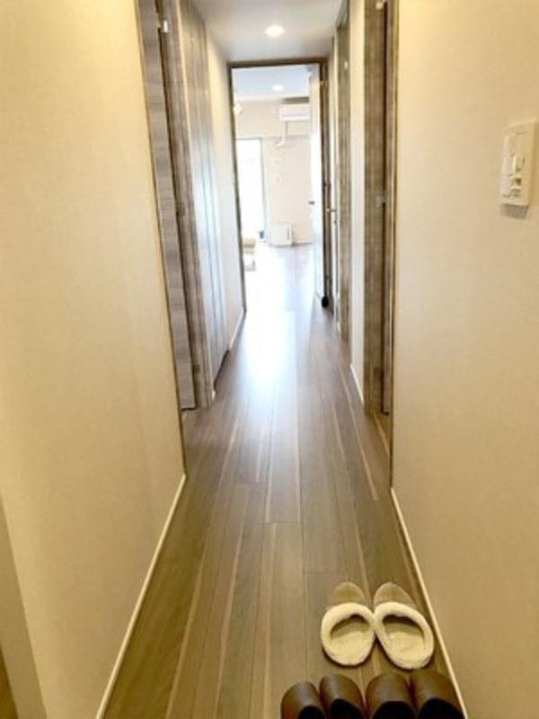 オープンレジデンシア広尾2のお部屋の廊下1枚目