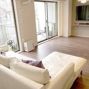 オープンレジデンシア広尾2(2階,)の居間(リビング・ダイニング・キッチン)