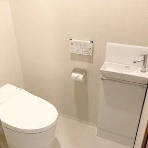 オープンレジデンシア広尾2(2階,9450万円)のトイレ