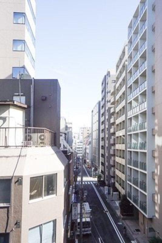 グリーンパーク日本橋堀留町のお部屋からの眺望1枚目