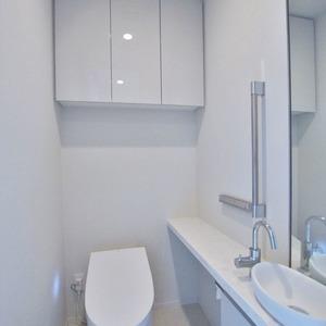 パークコート乃木坂ザ タワー(9階,1億1980万円)のトイレ