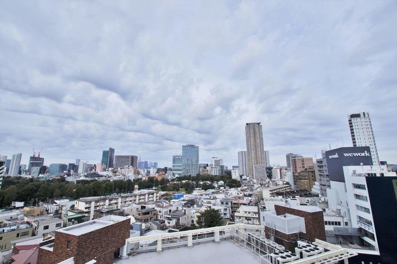 パークコート乃木坂ザ タワー1億1980万円のお部屋からの眺望1枚目