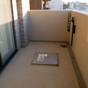 ナイスアーバン浅草(9階,4699万円)のバルコニー