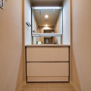 ニューハイツ新神楽坂(2階,6480万円)の化粧室・脱衣所・洗面室