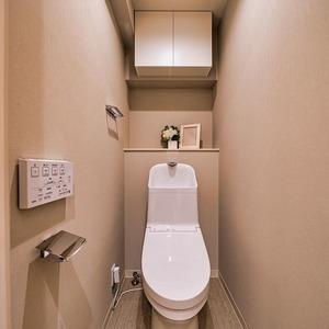 ニューハイツ新神楽坂(2階,6480万円)のトイレ
