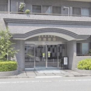 ニューハイツ新神楽坂のマンションの入口・エントランス