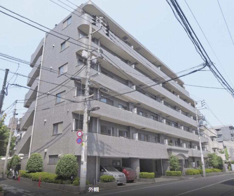 ニューハイツ新神楽坂の外観1枚目