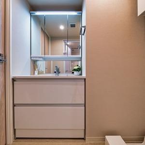 グランエクレール参宮橋(4階,4980万円)の化粧室・脱衣所・洗面室