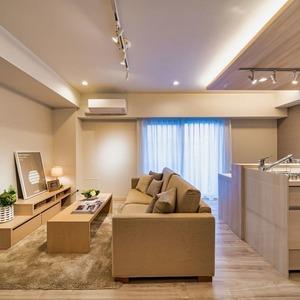 グランエクレール参宮橋(4階,4980万円)の居間(リビング・ダイニング・キッチン)