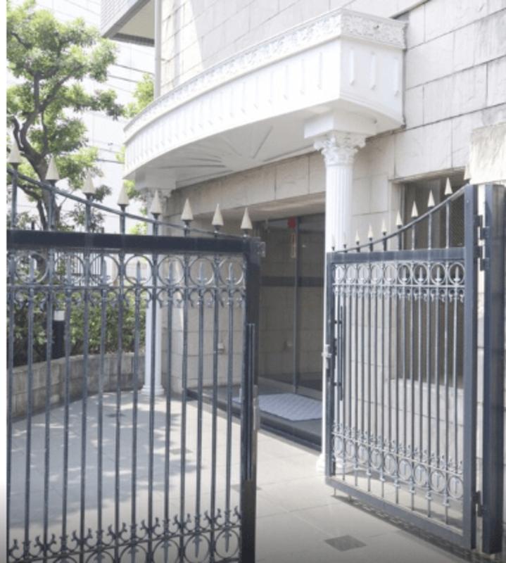 グランエクレール参宮橋のマンションの入口・エントランス1枚目