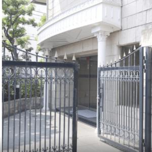 グランエクレール参宮橋のマンションの入口・エントランス