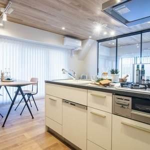 恵比寿ガーデン(3階,7180万円)のキッチン