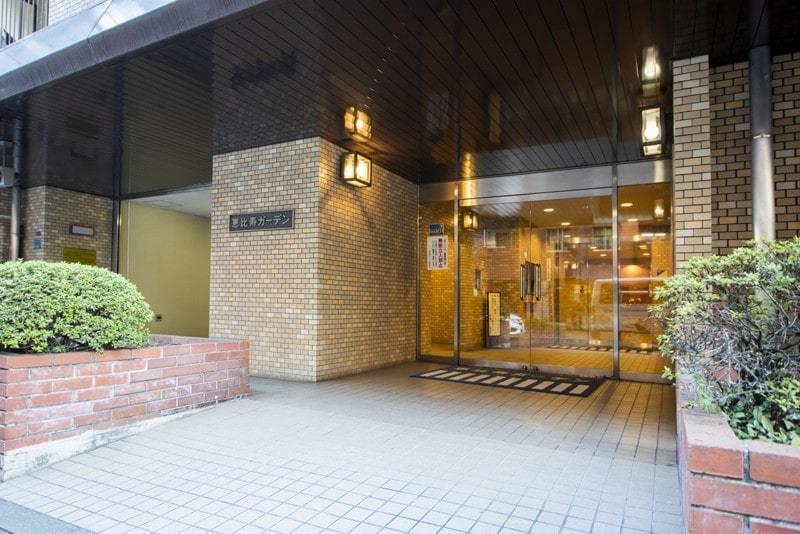 恵比寿ガーデンのマンションの入口・エントランス1枚目