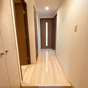 ミルーナヒルズアイル両国(4階,)のお部屋の廊下