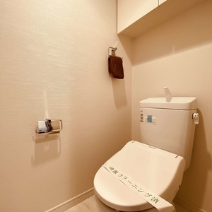 ミルーナヒルズアイル両国(4階,)のトイレ