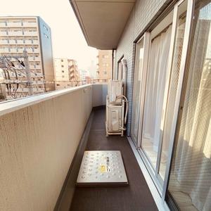 ミルーナヒルズアイル両国(4階,)のバルコニー