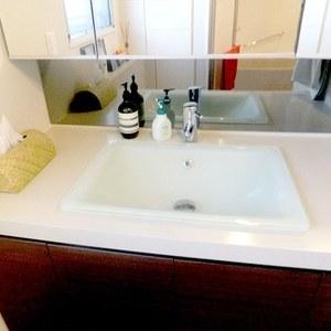 ザ晴海レジデンス(13階,6880万円)の化粧室・脱衣所・洗面室