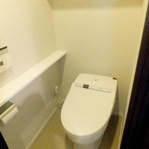 ザ晴海レジデンス(13階,6880万円)のトイレ