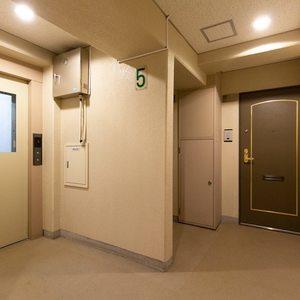 西日暮里ローヤルコーポ(5階,)のフロア廊下(エレベーター降りてからお部屋まで)