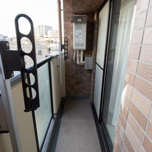 西日暮里ローヤルコーポ(5階,)のバルコニー