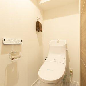 ライオンズマンション西日暮里第2(6階,)のトイレ