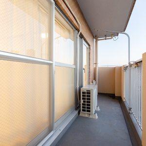 ライオンズマンション西日暮里第2(6階,)のバルコニー