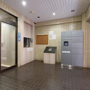 サンコート池袋のマンションの入口・エントランス