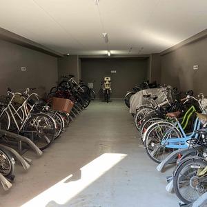 メゾンドール錦糸町ツインの駐輪場