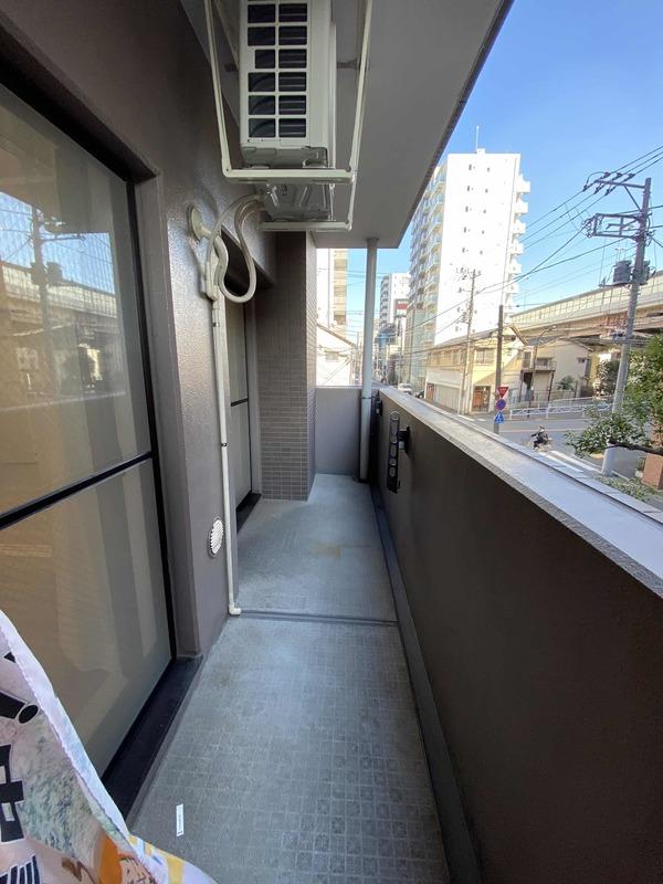メゾンドール錦糸町ツイン4499万円のバルコニー1枚目