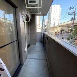 メゾンドール錦糸町ツイン(2階,4499万円)のバルコニー