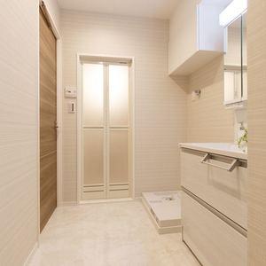 プチモンド上野(2階,2499万円)の化粧室・脱衣所・洗面室