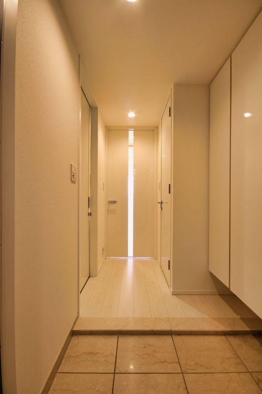 パークタワーグランスカイのお部屋の玄関1枚目