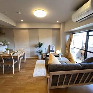 サンメゾン中野(3階,4590万円)の居間(リビング・ダイニング・キッチン)
