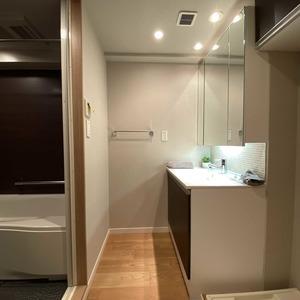サンメゾン中野(3階,4590万円)の化粧室・脱衣所・洗面室