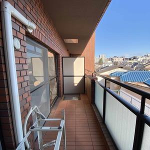サンメゾン中野(3階,4590万円)のバルコニー