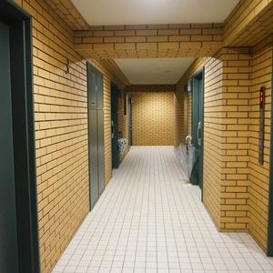 グラーサ東京イースト(3階,)のフロア廊下(エレベーター降りてからお部屋まで)