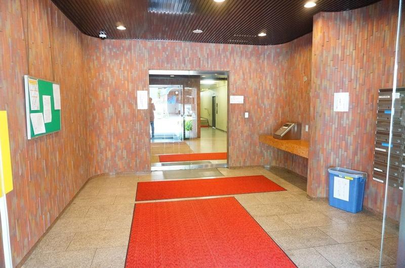 サンビューハイツ四番町のマンションの入口・エントランス1枚目