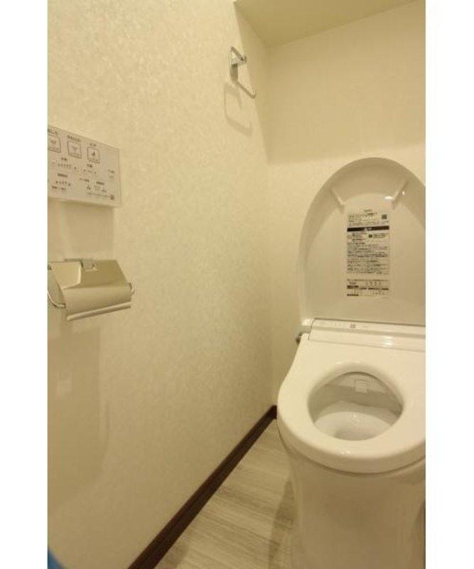 ドミール世田谷のトイレ1枚目