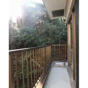 ドミール世田谷(2階,)のバルコニー