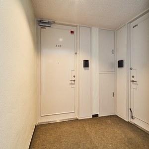 イースタンホームズ若林(2階,)のフロア廊下(エレベーター降りてからお部屋まで)