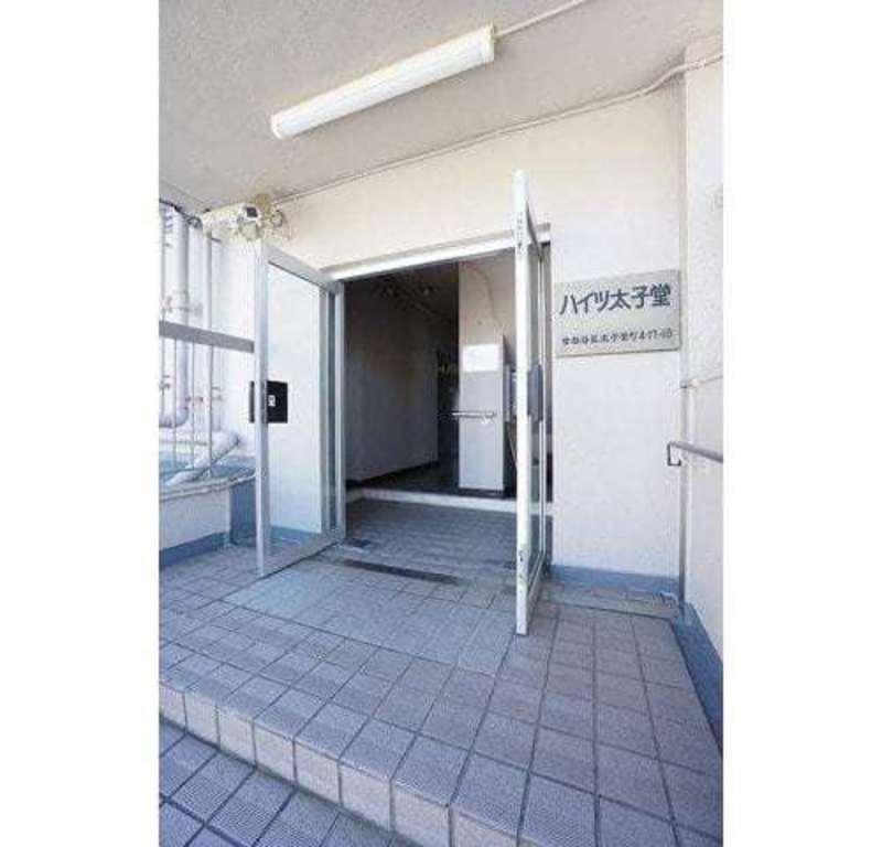 ハイツ太子堂のマンションの入口・エントランス1枚目