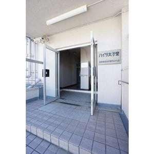 ハイツ太子堂のマンションの入口・エントランス